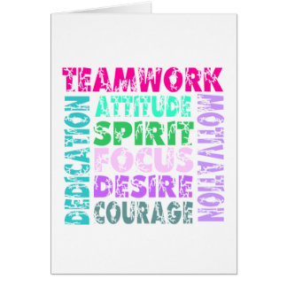 VolleyChick s Teamwork Greeting Cards