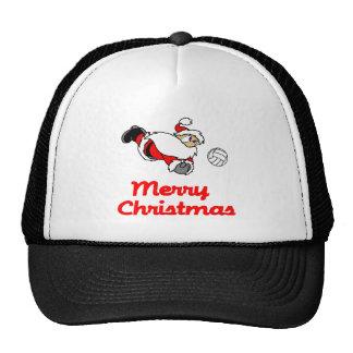 VolleyChick Santa Digs Merry Christmas Trucker Hat