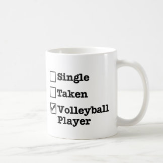 VolleyChick Single Coffee Mug