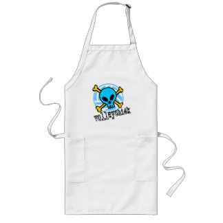 VolleyChick Skull Long Apron