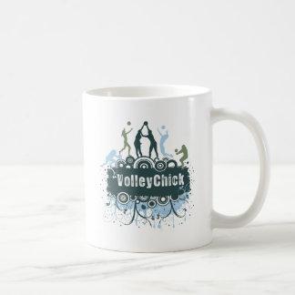 VolleyChick Star Grunge Coffee Mug