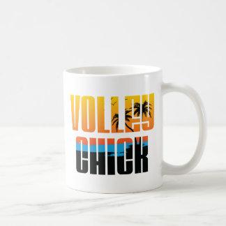 VolleyChick Sure Coffee Mugs
