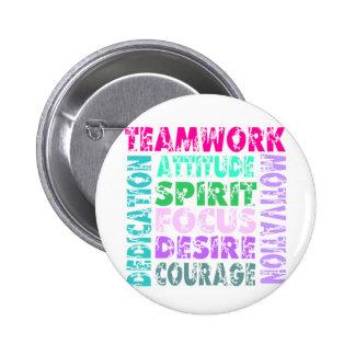 VolleyChick Teamwork Button
