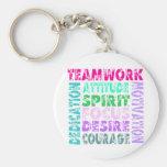VolleyChick Teamwork Key Chain