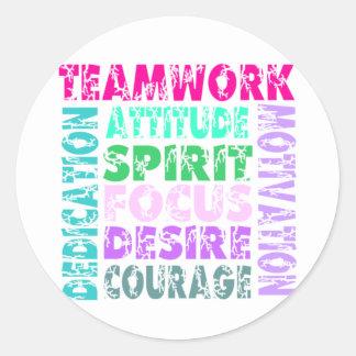 VolleyChick Teamwork Stickers