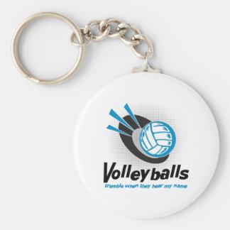 VolleyChick Tremble Keychain