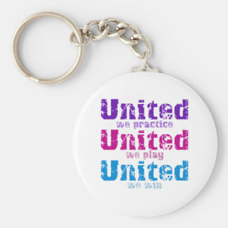 VolleyChick United Keychain