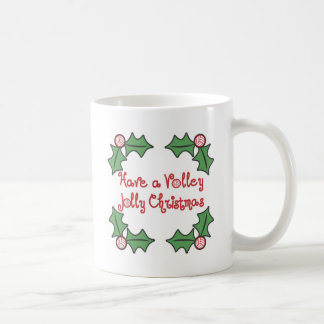 VolleyChick Volley Jolly Christmas Coffee Mug