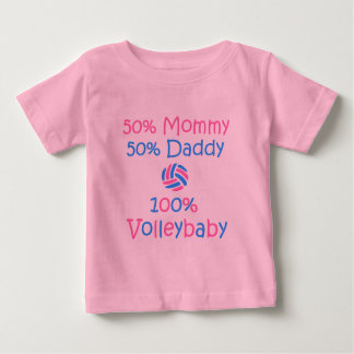 VolleyChick VolleyBaby 100% Baby T-Shirt