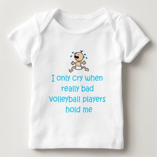 VolleyChick VolleyBaby Bad Volley Baby T-Shirt