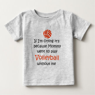 VolleyChick VolleyBaby Cry Baby T-Shirt