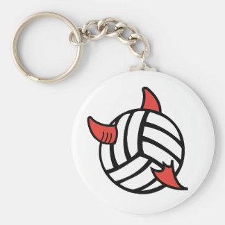 VolleyChick Volleyball Diablo Keychain