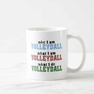 VolleyChick Volleyball Who What Mugs