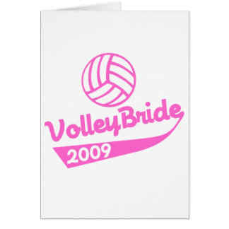 VolleyChick VolleyBride Cards
