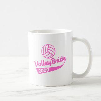 VolleyChick VolleyBride Mugs