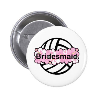 VolleyChick VolleyBride Pin