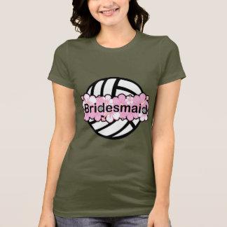 VolleyChick VolleyBride T-Shirt