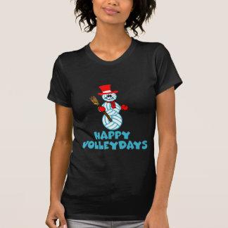 VolleyChick Volleydays feliz Camiseta