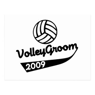 VolleyChick VolleyGroom Post Cards