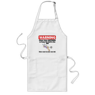 VolleyChick Warning Long Apron