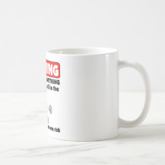 VolleyChick Warning Coffee Mug