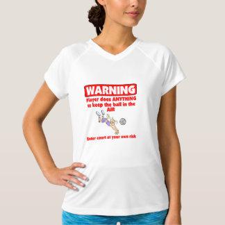 VolleyChick Warning T-Shirt