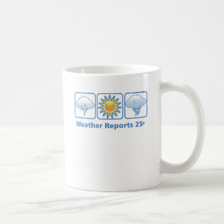 VolleyChick Weather Report Coffee Mug