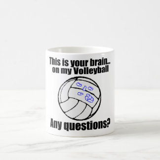 VolleyChick's Brain Coffee Mug