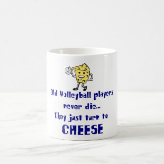 VolleyChick's Cheese Coffee Mug