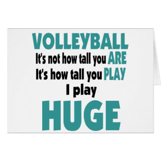 VolleyChick's Huge Card