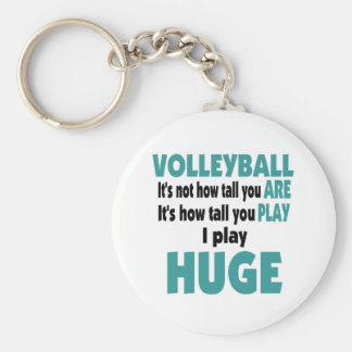 VolleyChick's Huge Keychain