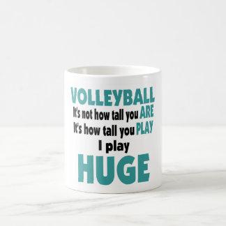 VolleyChick's Huge Coffee Mugs
