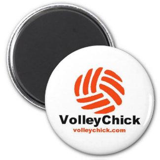 VolleyChick's Logo Magnet