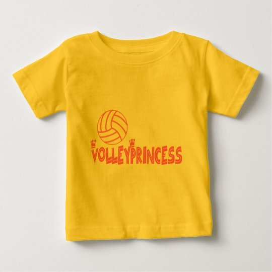 VolleyChick's Princess Baby T-Shirt