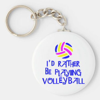 VolleyChick's Rather Keychain