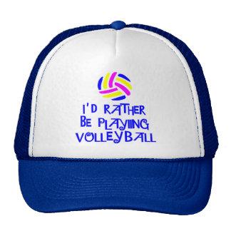 VolleyChick's Rather Trucker Hat