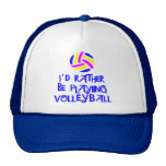 VolleyChick's Rather Trucker Hats