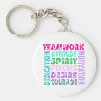 VolleyChick's Teamwork Keychain