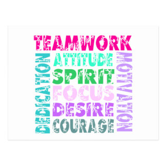 VolleyChick's Teamwork Postcards