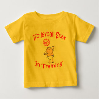 VolleyChick's VolleyBaby Baby T-Shirt