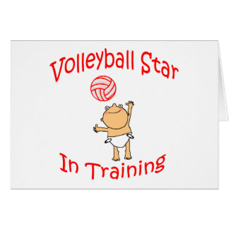 VolleyChick's VolleyBaby Greeting Card