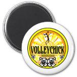VolleyChickSunshine Magnet