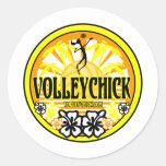 VolleyChickSunshine Sticker