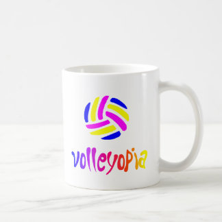 VolleyChickVolleytopiaDark Coffee Mug