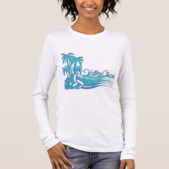 VolleyChickWaver Long Sleeve T-Shirt