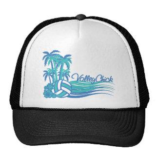 VolleyChickWaver Trucker Hat