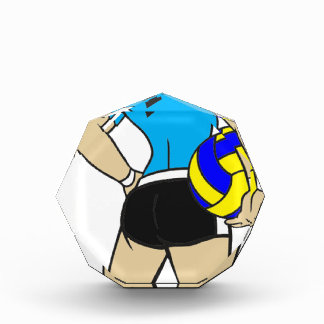 VOLLEYGIRL CYAN BLONDE AWARD
