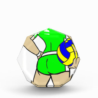 VOLLEYGIRL GREEN BRUNETTE AWARD