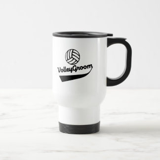 VolleyGroom Swoosh Coffee Mug