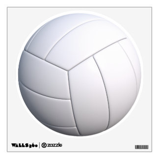 VOLLYBALL WALL DECAL